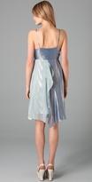 Gryphon Lame Scarf Dress