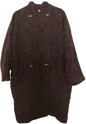 Paul & Joe Burgundy Coat for Women