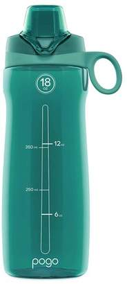 Leapfrog Pogo BPA-Free Plastic Water Bottle with Chug Lid, Teal, 18 oz