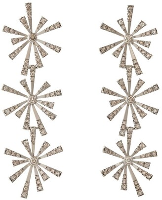 H.Stern Noble Gold and Diamond Flow Earrings