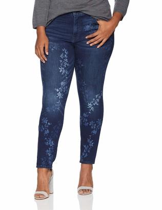 Lucky Brand Women's Plus Size HIGH Rise Hayden Skinny Jean in BOSCABEL 24W