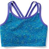 Old Navy Go-Dry Cool Long-Line Sports Bra for Girls