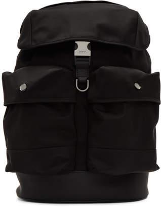 BOSS Black Multi-Pocket Backpack