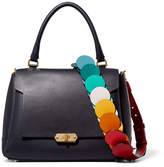 Anya Hindmarch Bathurst Small Leather Shoulder Bag - Navy