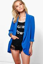 Boohoo Lydia Turn Up Cuff Blazer