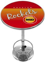 Houston Rockets Hardwood Classics Chrome Pub Table