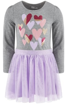 Epic Threads Toddler Girls Hearts Tutu Dress, Created For Macy's