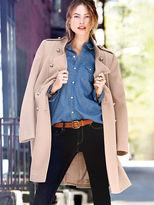 Victoria's Secret Wool Military Coat