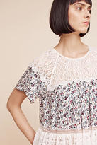 Blue Tassel Sara Lace Blouse