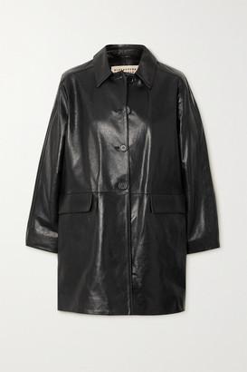 ALEXACHUNG Mulholland Leather Jacket - Black