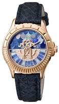 Roberto Cavalli Ladies D. Blue Watch.