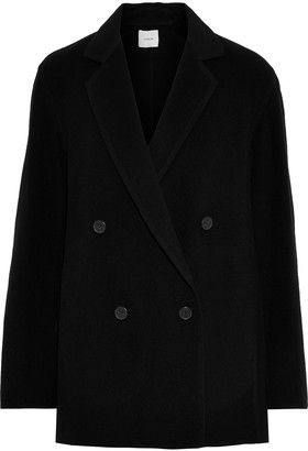 Vince Double-breasted Wool-blend Coat