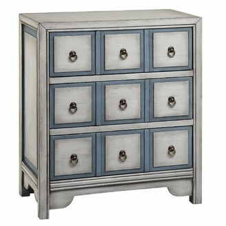 Highland Dunes Thirsk 3 Drawer Apothecary Accent Chest