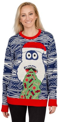 Ugly Sweater Company Ugly Christmas Sweater Yeti Santa Sweater
