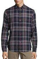 Theory Rammis Dolton Plaid Shirt