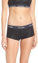 Calvin Klein Women's 'Modern Cotton Collection' Pima Cotton Blend Boyshorts