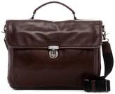 Frye Stanton Top Handle Leather Briefcase