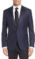 Men's Samuelsohn Classic Fit Wool & Cotton Dinner Jacket