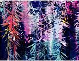 Urban Road Bottle Brush Canvas Print, Andy Navy 60x90cm