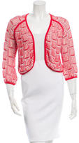 Vena Cava Asymmetrical Open Knit Cardigan