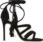 Dune Munroe Ghillie suede heeled sandals