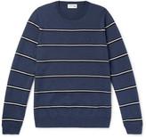 Lacoste Striped Merino Wool Sweater