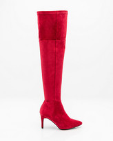 Le Château Pointy Toe Thigh High Stretch Boot