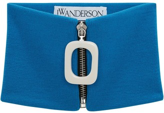 J.W.Anderson Zip-Up Wool Scarf