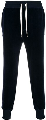 Ami Paris Velvet Trackpants