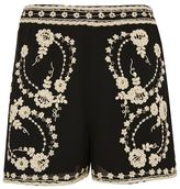 Topshop Lace bed shorts