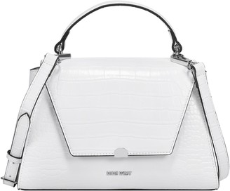 Nine West Croco Top Handle Crossbody Bag - Ridgewood