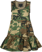Marc Jacobs camoflage mini dress - women - Cotton - 8