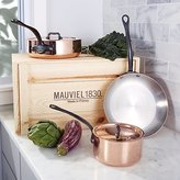 Crate & Barrel Mauviel ® M150 5-Piece Cookware Set with Wooden Crate