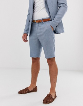 ONLY & SONS suit shorts-Blue