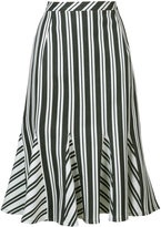 Altuzarra striped skirt - women - Cotton/Polyester/Spandex/Elastane/Wool - 38