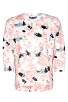 Select Fashion Fashion Womens Multi Watercolour Flower Scuba Sweat - size 6
