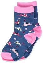 Hatley Little Blue House by Girl's Animal Socks