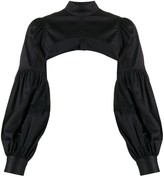 Comme des Garcons Cropped Long-Sleeve Shirt