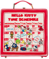Olympia Le-Tan 2016 Hello Kitty Time Schedule Bag