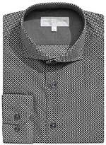 Haight And Ashbury Geo-Patterned Dress Shirt