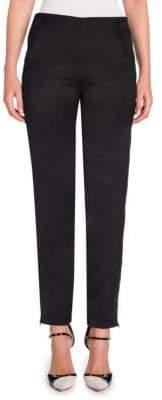 Giorgio Armani Straight-Leg Ankle Pants