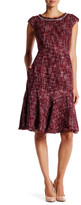 Canvas by Lands' End Canvas by Lands& End Tweed Flounce Dress
