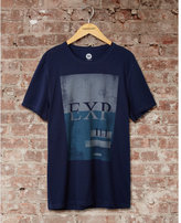 Express one eleven blocked EXP graphic t-shirt