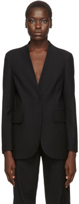MM6 MAISON MARGIELA Black Lapel-less Blazer