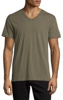 Vince Slub V-Neck Short-Sleeve T-Shirt