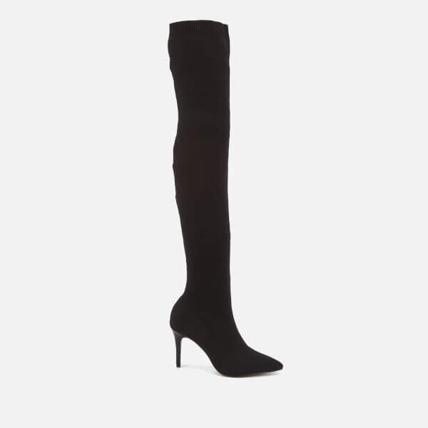 90ed50296 Thigh High Stretch Boots - ShopStyle UK