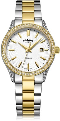 Rotary Watches Oxford Two Tone Gold Stainless Steel Quartz