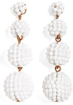J.Crew Women's Beaded Ball Drop Earrings