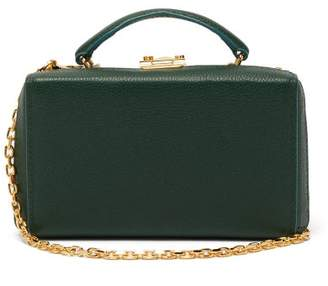 Mark Cross Grace Gold-plated Leather Belt Bag - Womens - Green