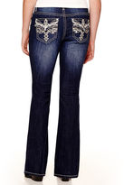 Z2 Soundgirl Angel Cross-Wing Bootcut Jeans - Juniors Plus
